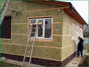 Утепленный дом на дачном участке