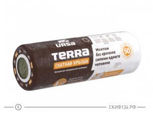 Утеплитель URSA Скатная крыша для утепления скатных крыш