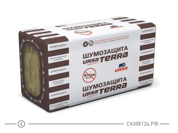 Звукоизоляция URSA TERRA Шумозащита для каркасных стен и перегородок