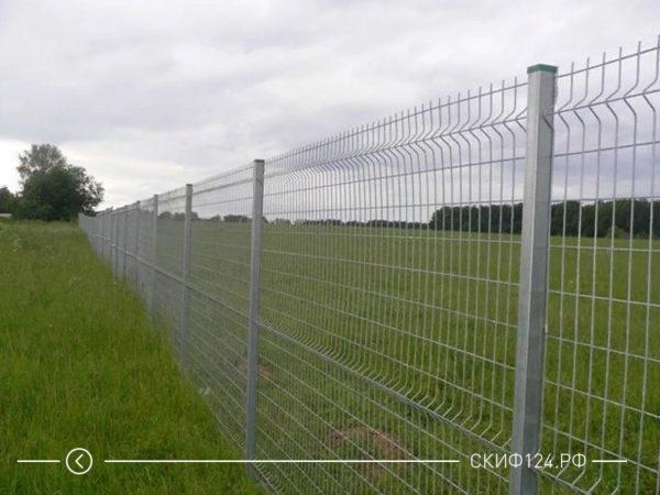 Металлический забор Гардис для ограждения участка
