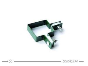 Хомут угловой для металлического забора