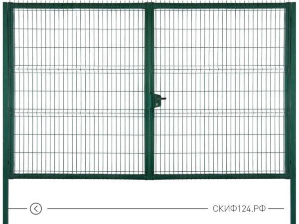 Ворота металлические для забора