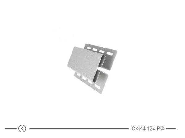 H-профиль для сайдинга Grand Line, цвет белый