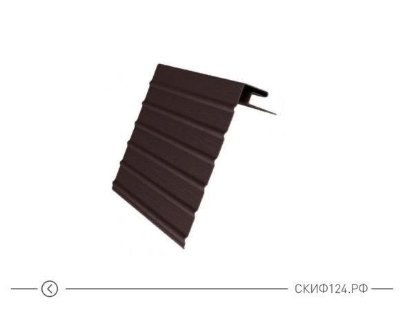J-фаска Grand Line для закрытия лобовой доски, коричневого цвета