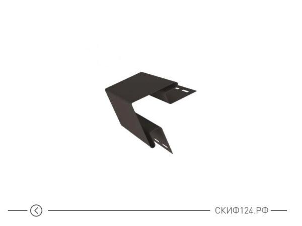 Внешний угол для сайдинга Гранд Лайн, коричневый