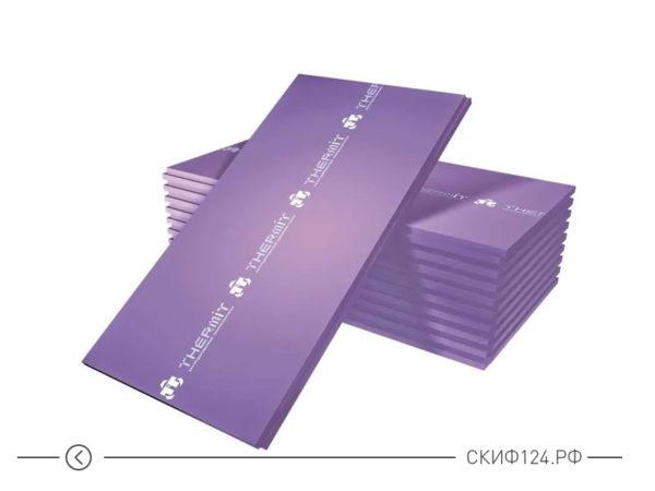 Плиты утеплителя Thermit XPS30 в упаковке